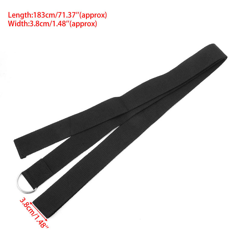 Adjustable lengthening strap