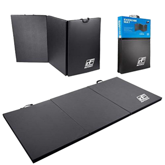 Tri-Fold Thick Gym Exercise Mat